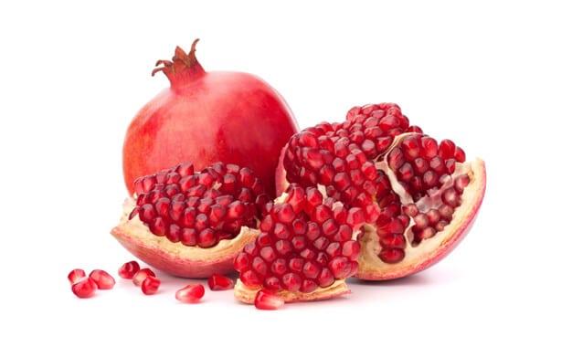 organic pomegranates in india